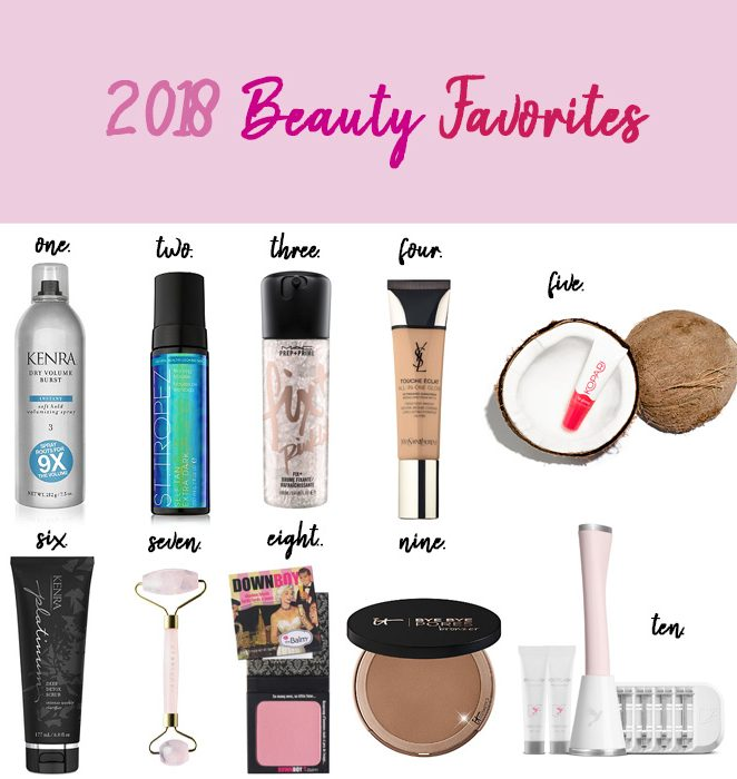 2018-beauty-favorites-products