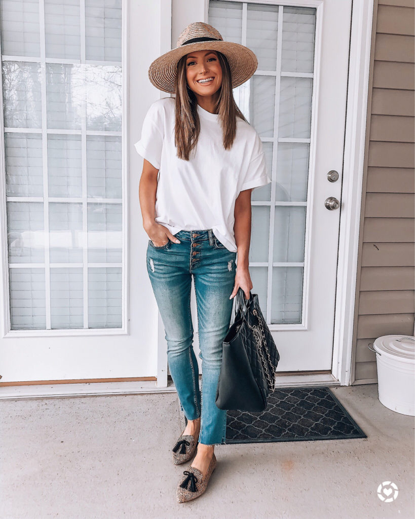 nordstrom topshop white roll sleeve tee