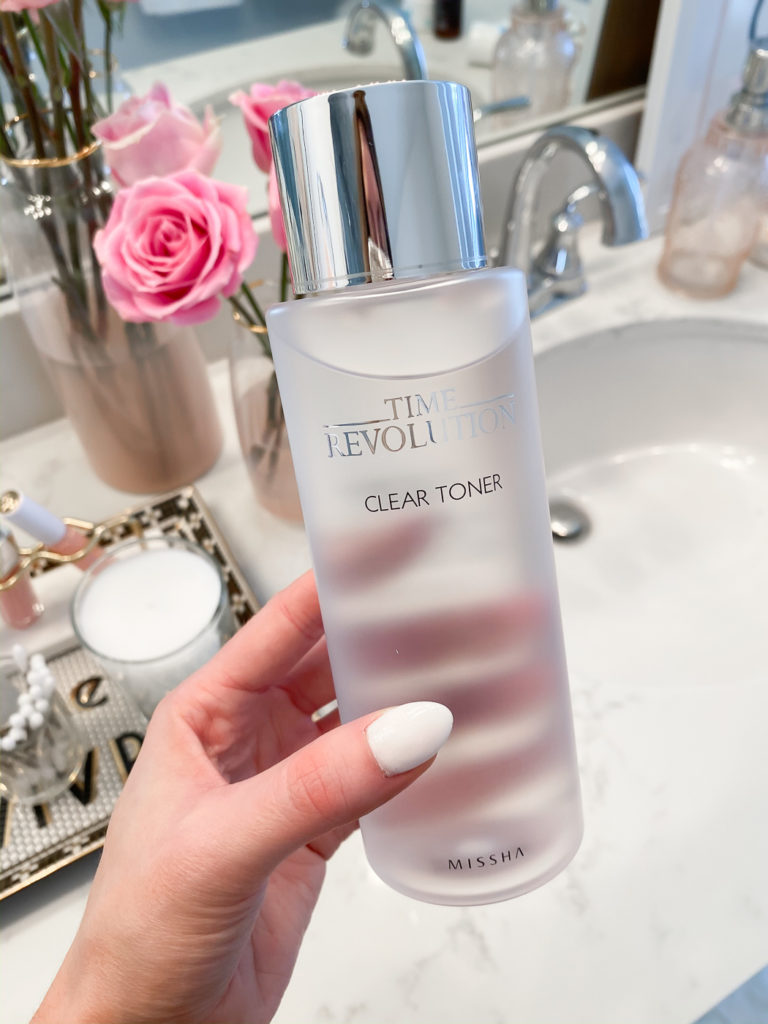 soko glam missha time revolution clear toner