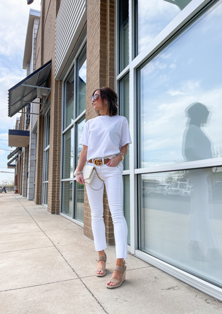 nordstrom all white spring outfit