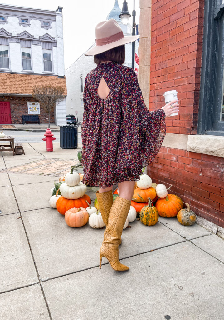 fall brunch with friends look