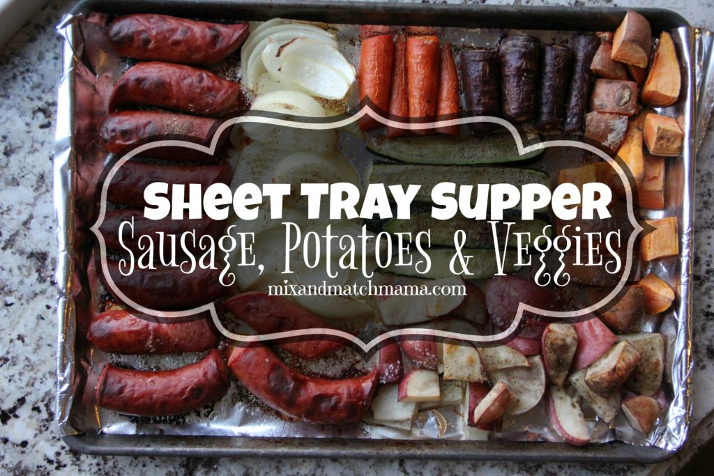 , Quick & Easy Sheet Tray Suppers!