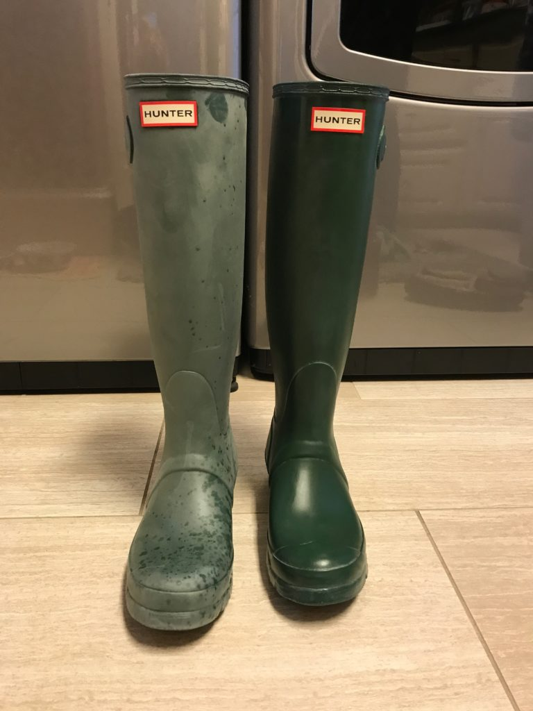 , Five Days of Fabulous: Hunter Boots for FIVE!!!