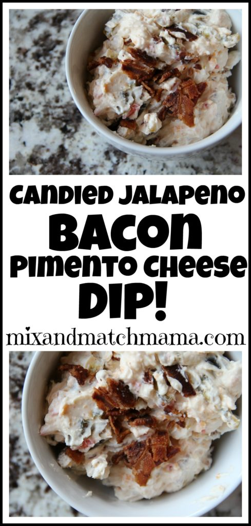 Candied Jalapeno Bacon Pimento Cheese Dip Recipe, Candied Jalapeno Bacon Pimento Cheese Dip