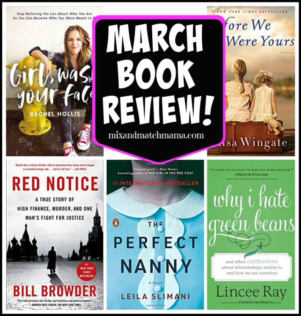 , March 2018 Book Review