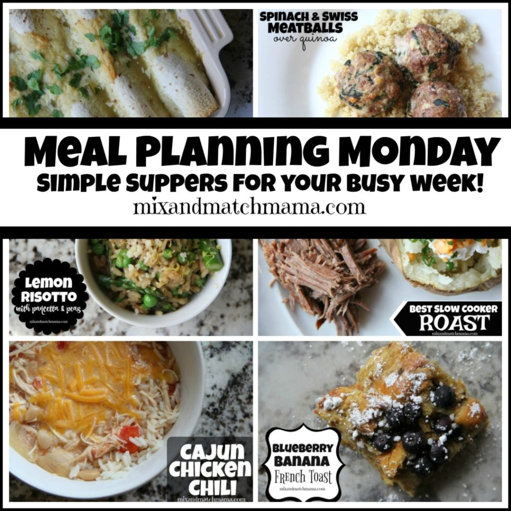 , Meal Planning Monday #224