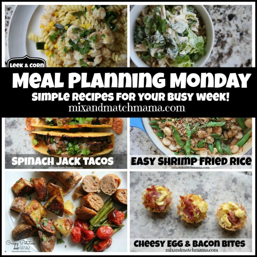 , Meal Planning Monday #228