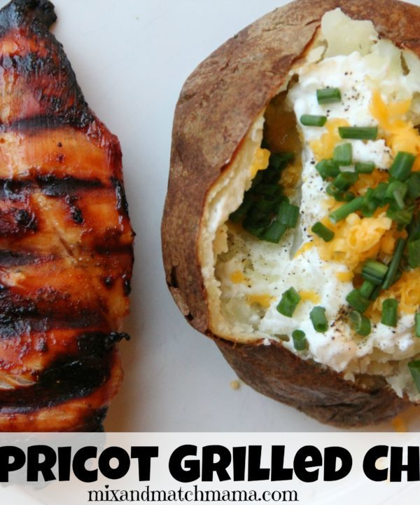 BBQ Apricot Grilled Chicken