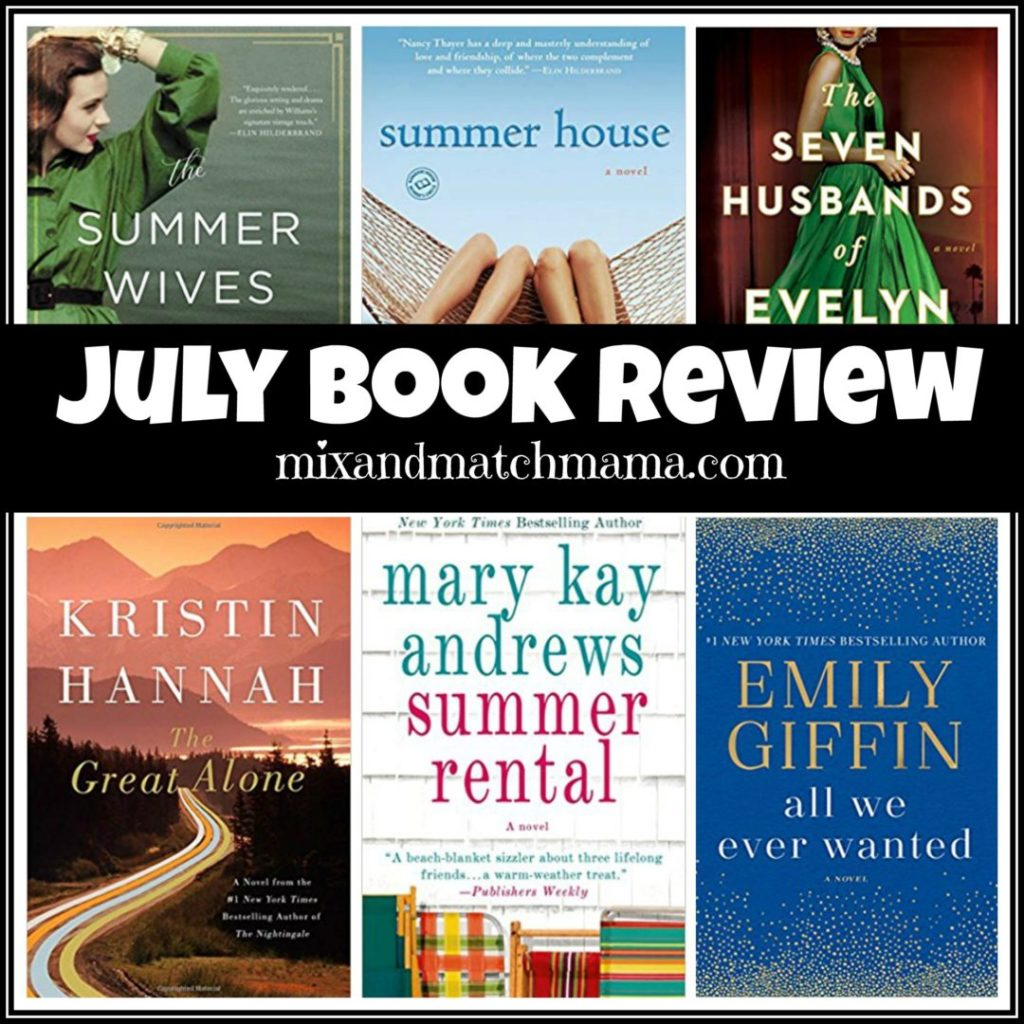 , July 2018 Book Review