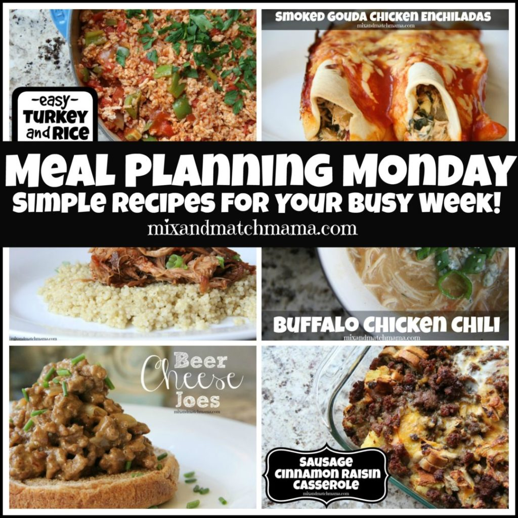 , Meal Planning Monday #339