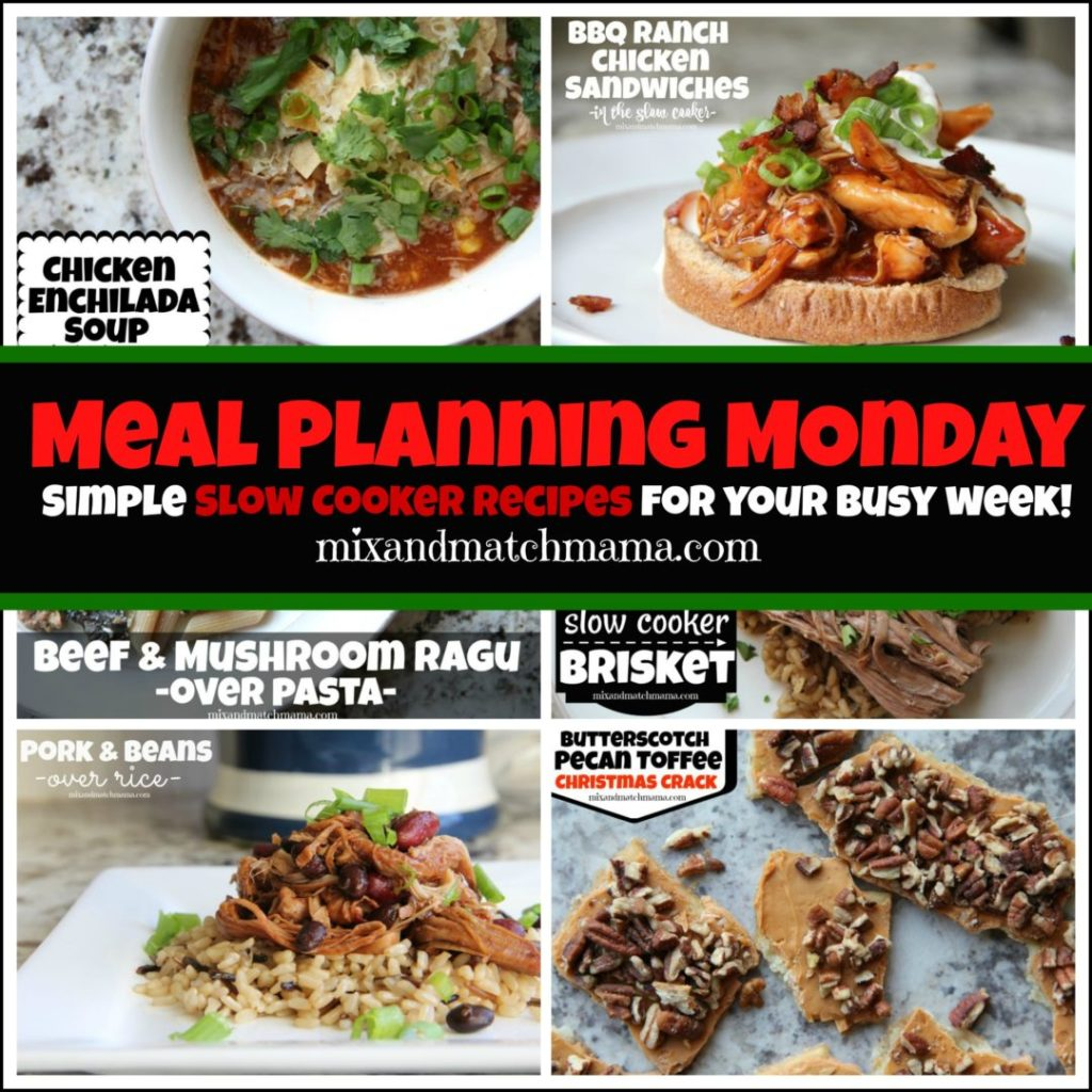 , Meal Planning Monday #353