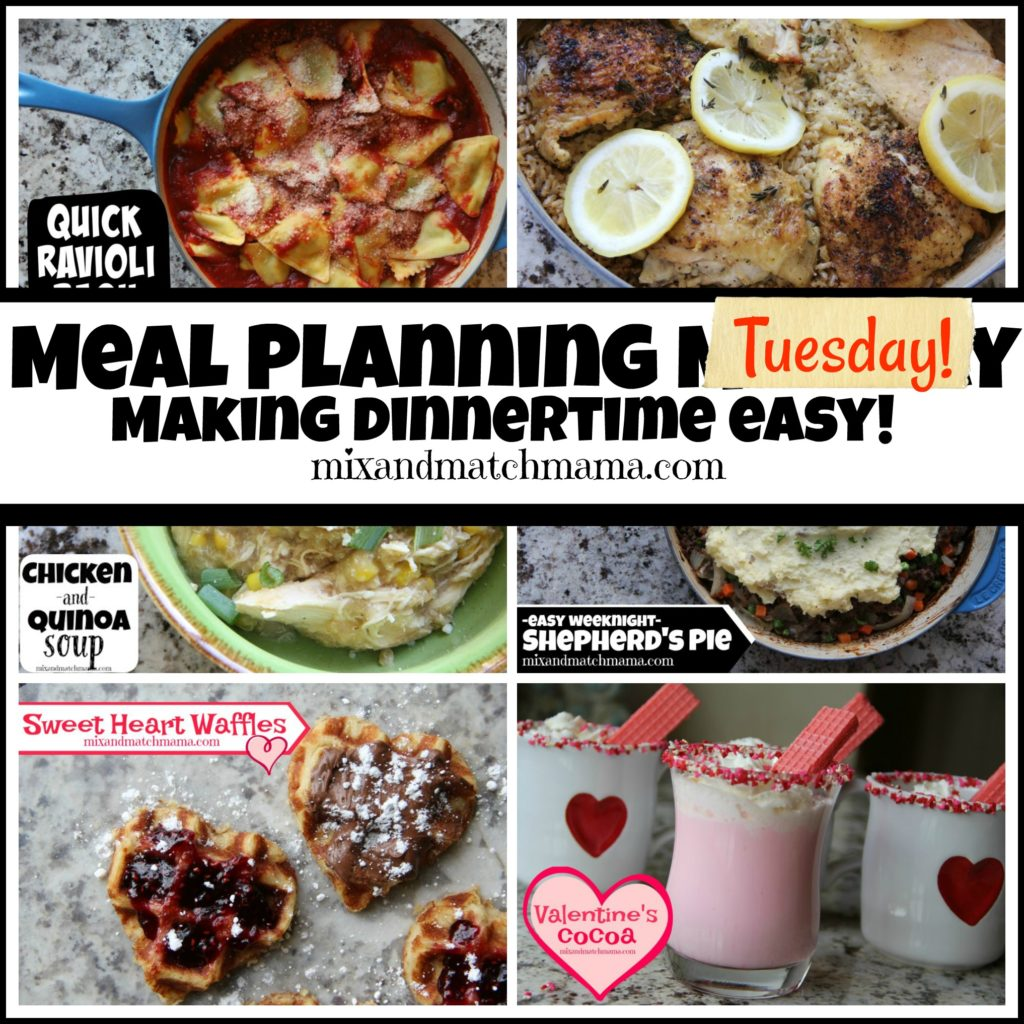 , Meal Planning Tuesday #265