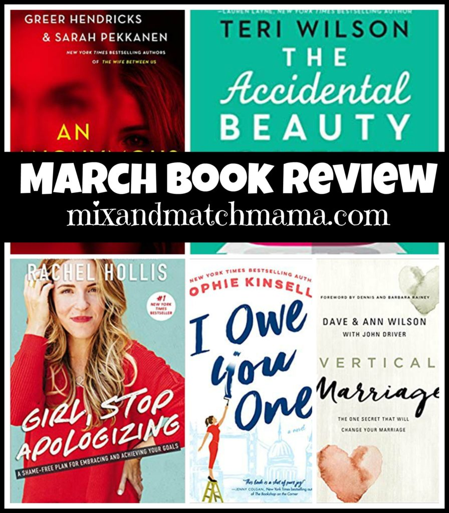 , March 2019 Book Review