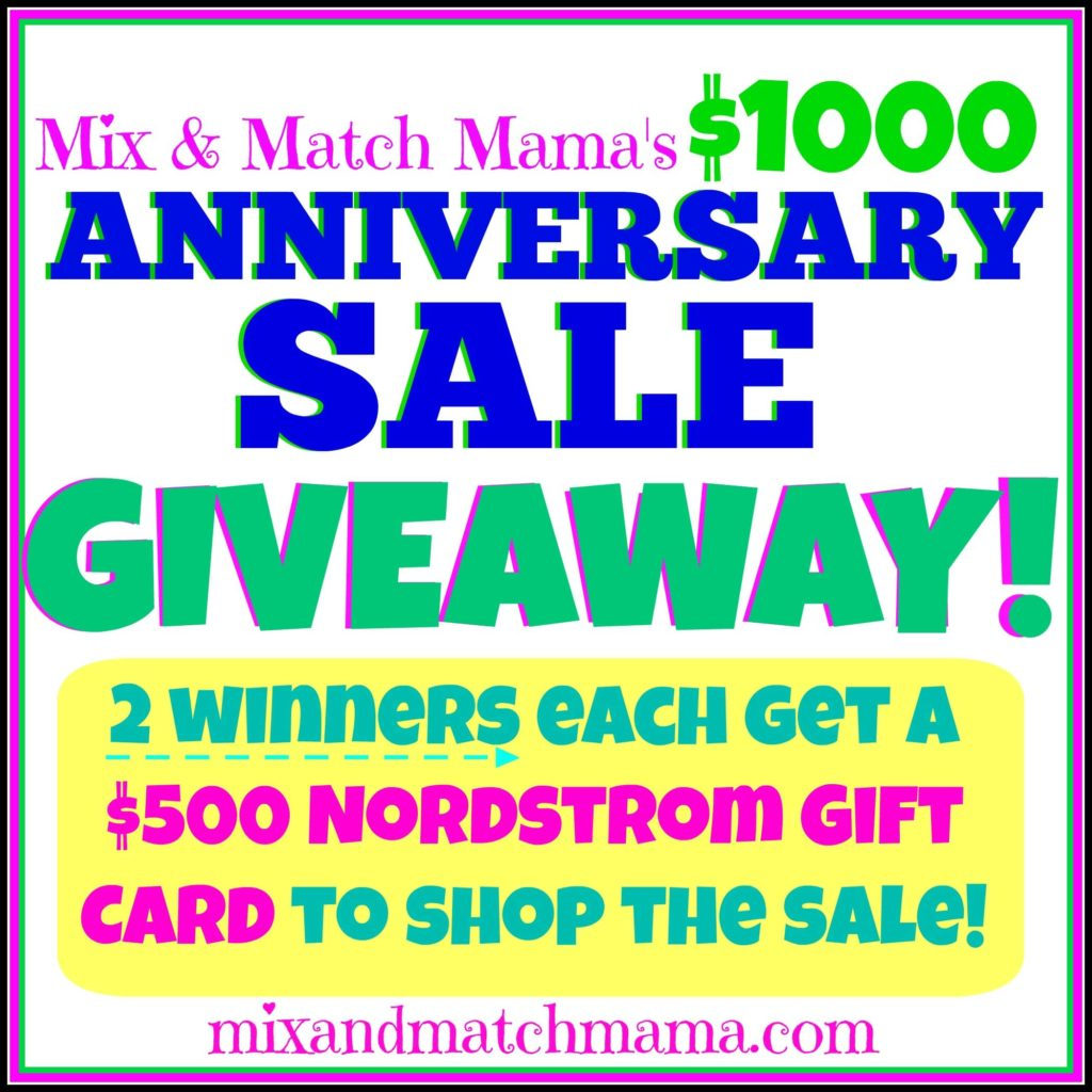 , Nordstrom's Anniversary Sale GIVEAWAY!!