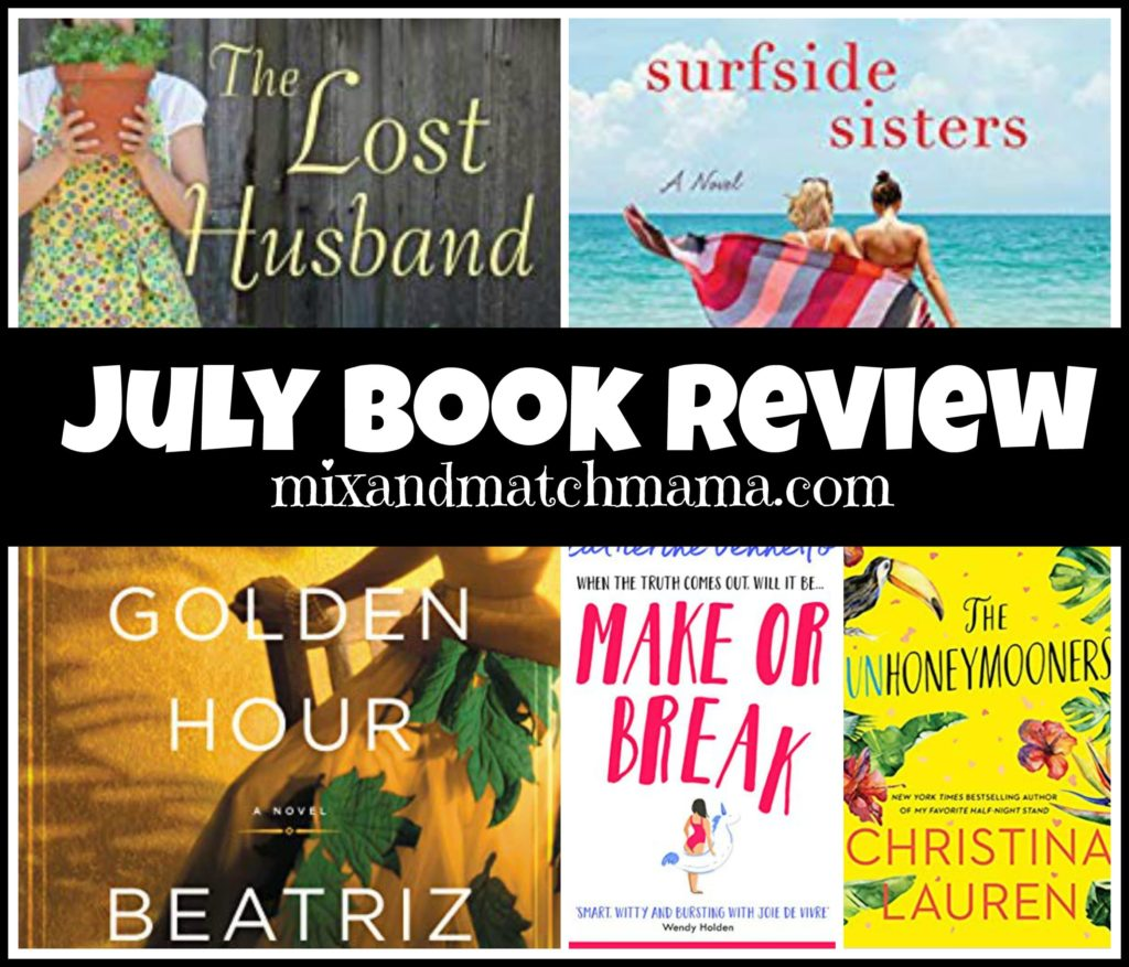 , July 2019 Book Review