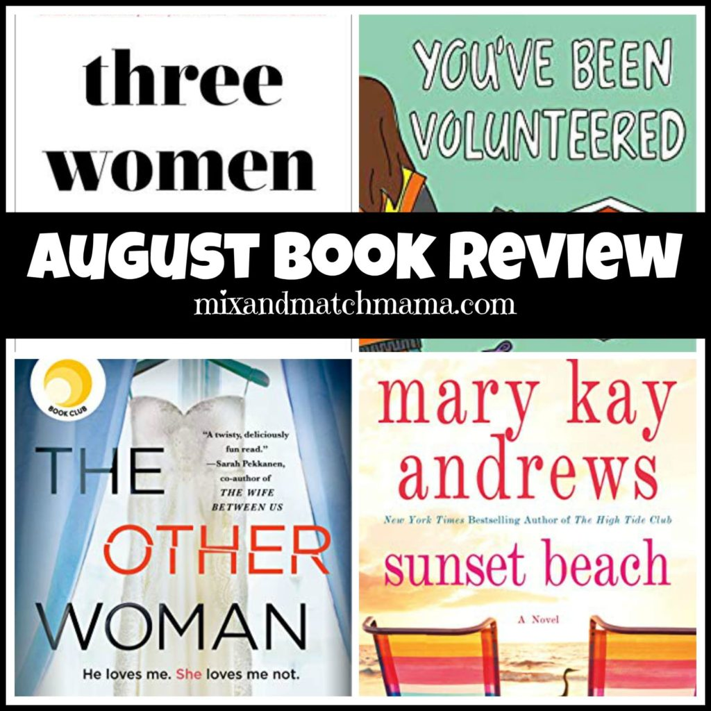 , August 2019 Book Review