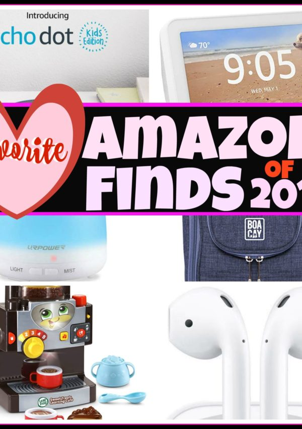 FAVORITE AMAZON FINDS OF 2019