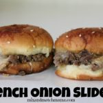 , French Onion Sliders