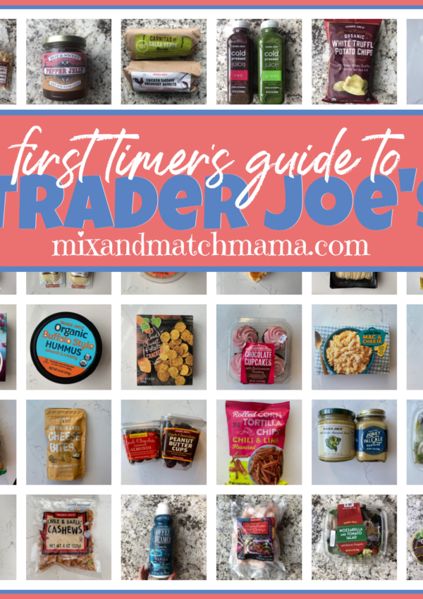 First Timer's Guide To Trader Joe's!