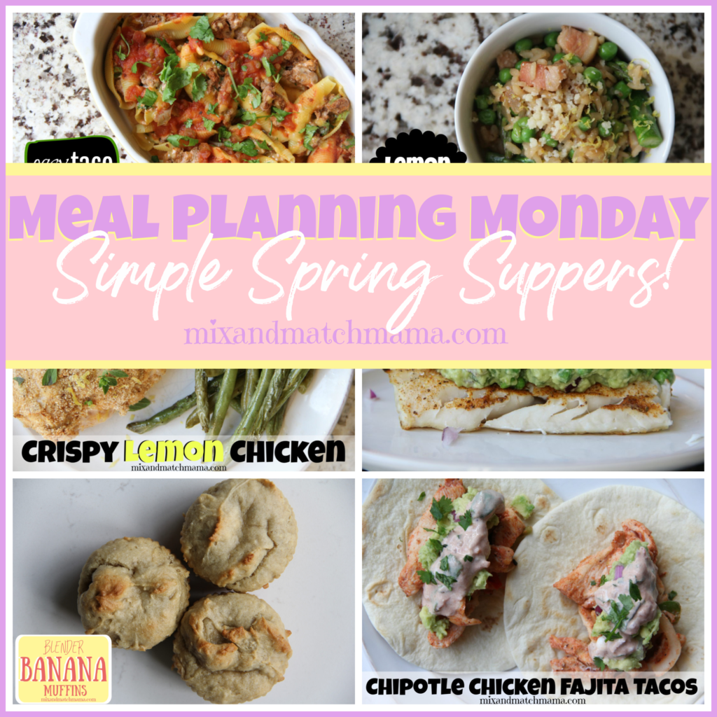 , Meal Planning Monday #368