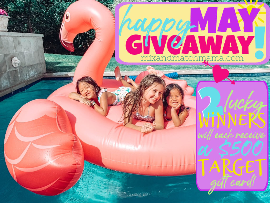 , Happy May Giveaway!
