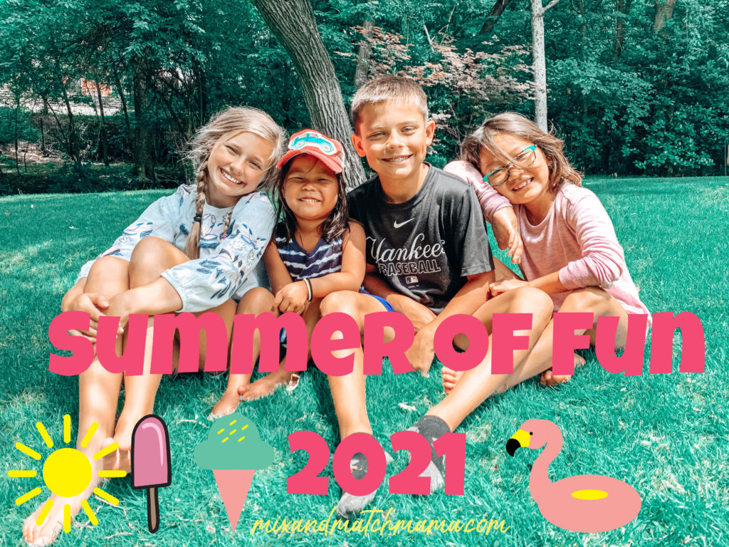 , Ashby is 9 PLUS it's our Summer of Fun 2021!