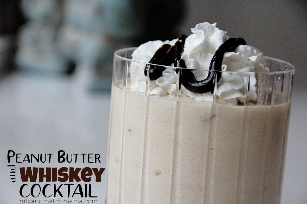 , Peanut Butter and Whiskey Cocktail