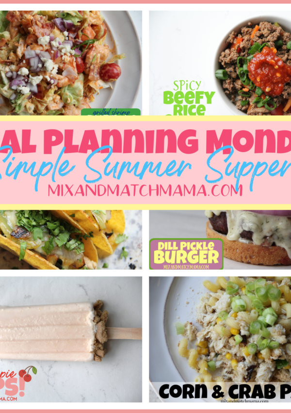 Meal Planning Monday #384
