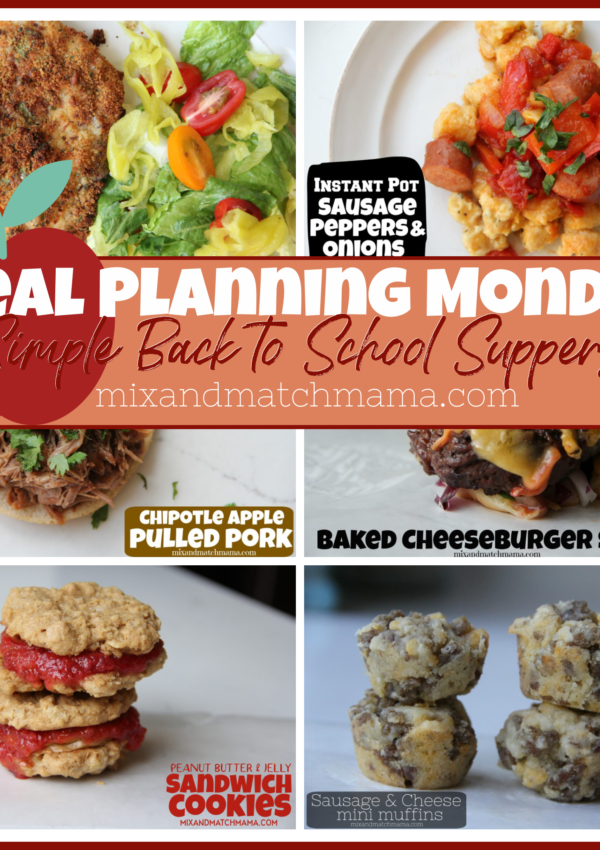 Meal Planning Monday #387