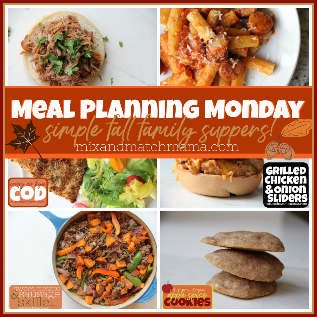 , Meal Planning Monday #390