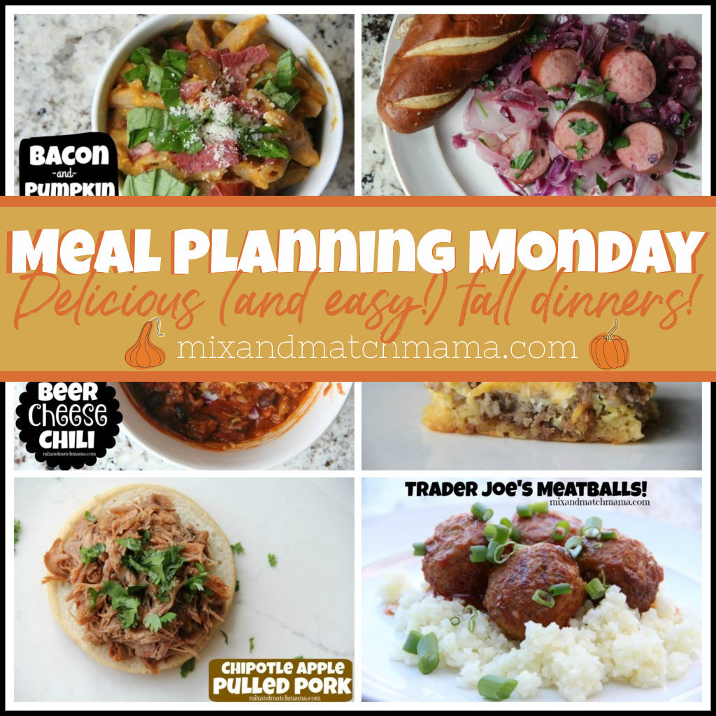 , Meal Planning Monday #392