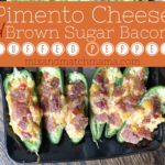, Pimento Cheese & Brown Sugar Bacon Stuffed Peppers with NFL Style