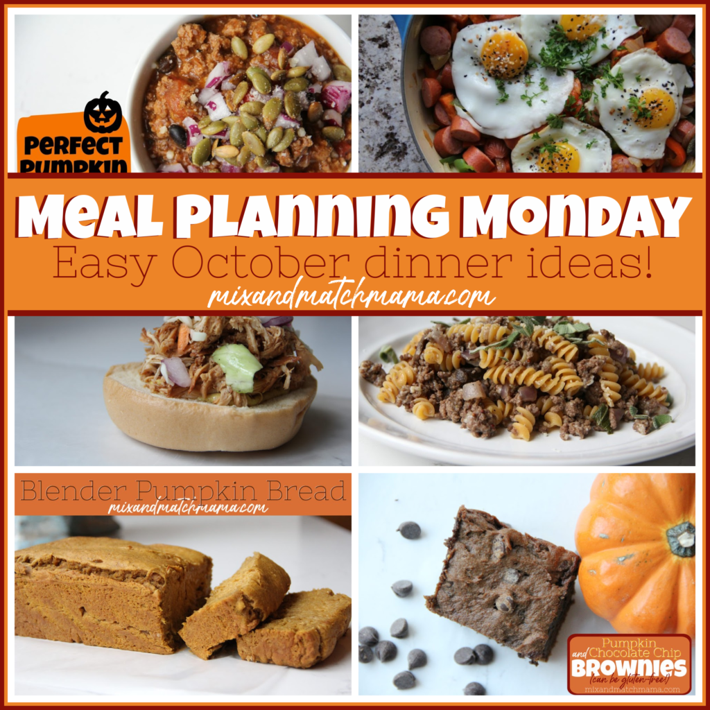 , Meal Planning Monday #394