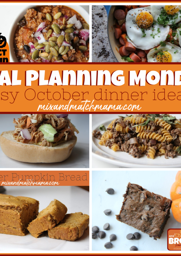 Meal Planning Monday #394