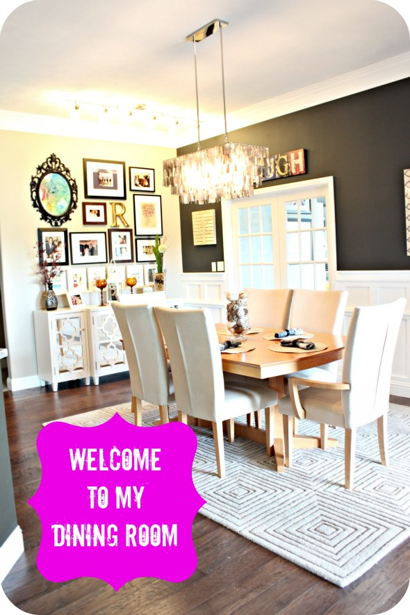 Modern Dining Room Space