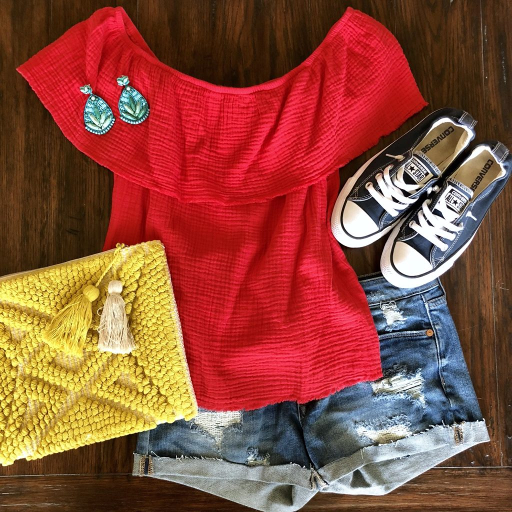 casual summer outfit