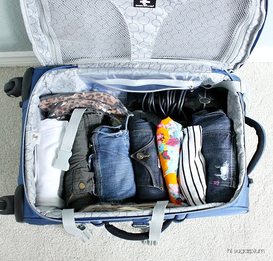 Hi Sugarplum   How to Pack 10 Days in 1 Carry-On