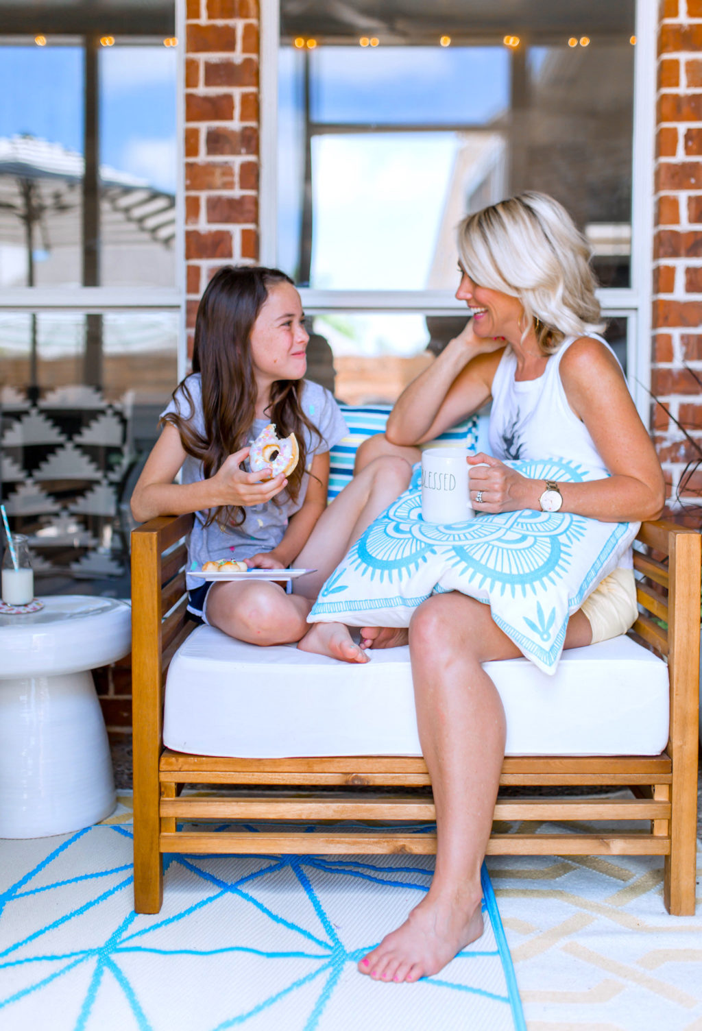 patio makeover home goods mother daughter time