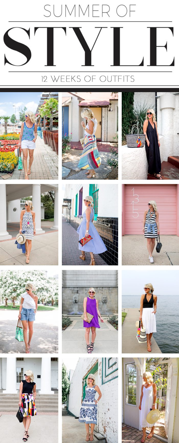 12 summer outfit ideas