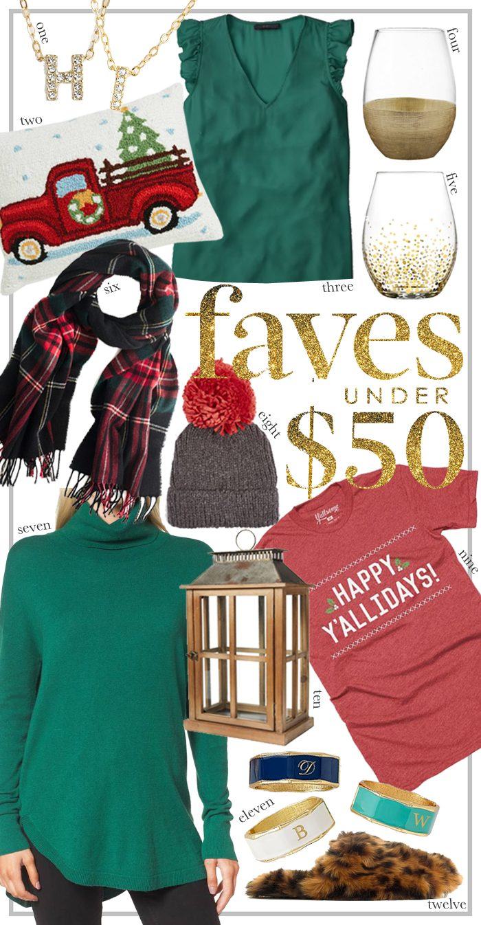 faves under $50 gifts