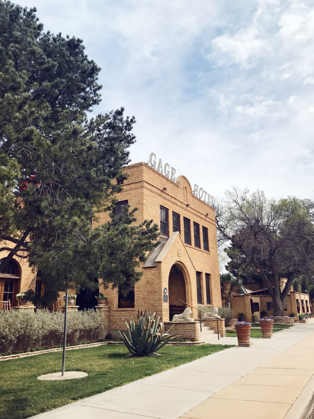 west texas itinerary gage hotel