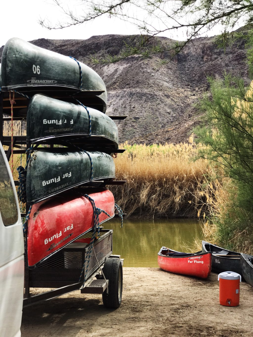 canoeing in big bend national park texas