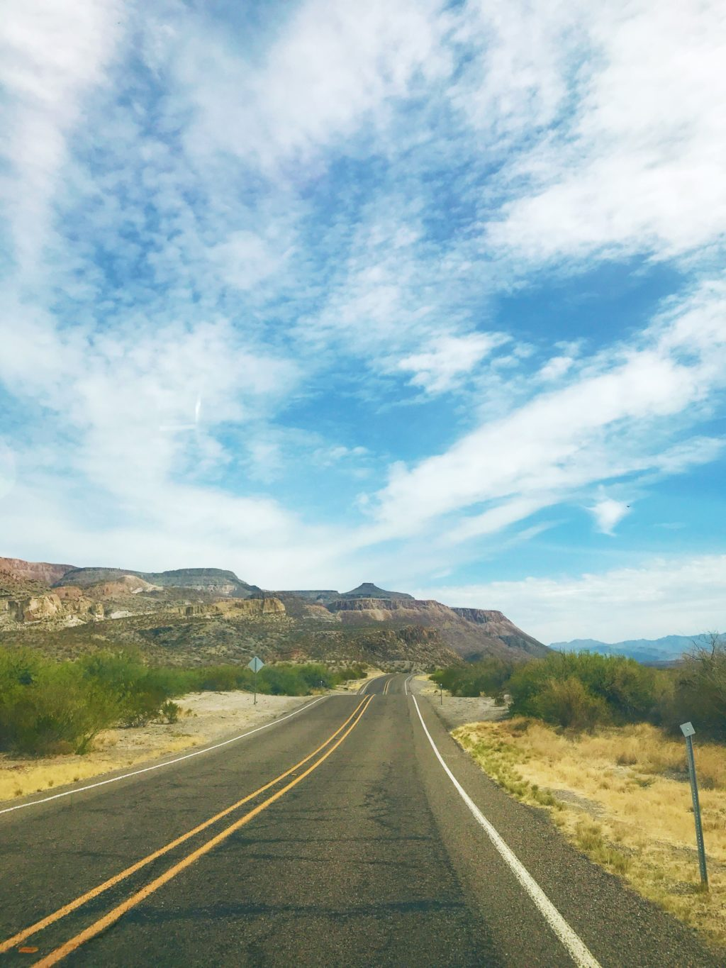 scenic drive big bend national park texas